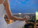 meditate in city